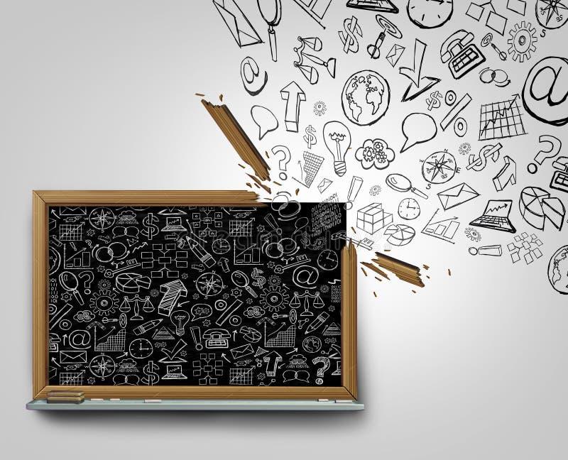 De Mededeling van het Businessplan vector illustratie
