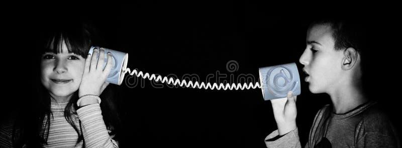 De mededeling van Internet stock afbeelding