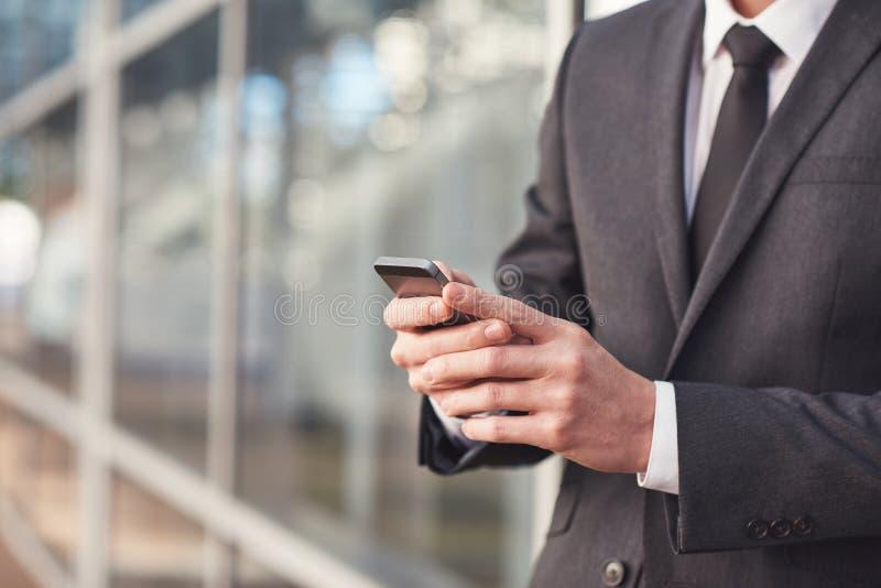 De mededeling is zeer belangrijk in moderne zaken stock afbeelding