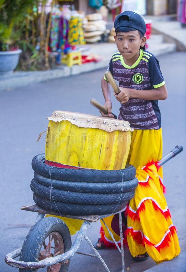 De medio herfst festiaval in Hoi An stock fotografie