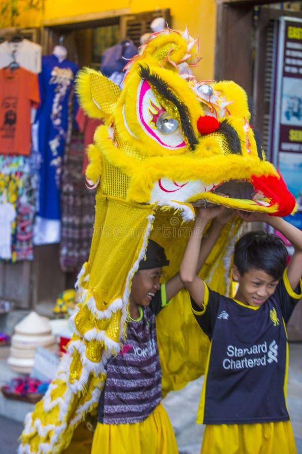 De medio herfst festiaval in Hoi An royalty-vrije stock afbeelding