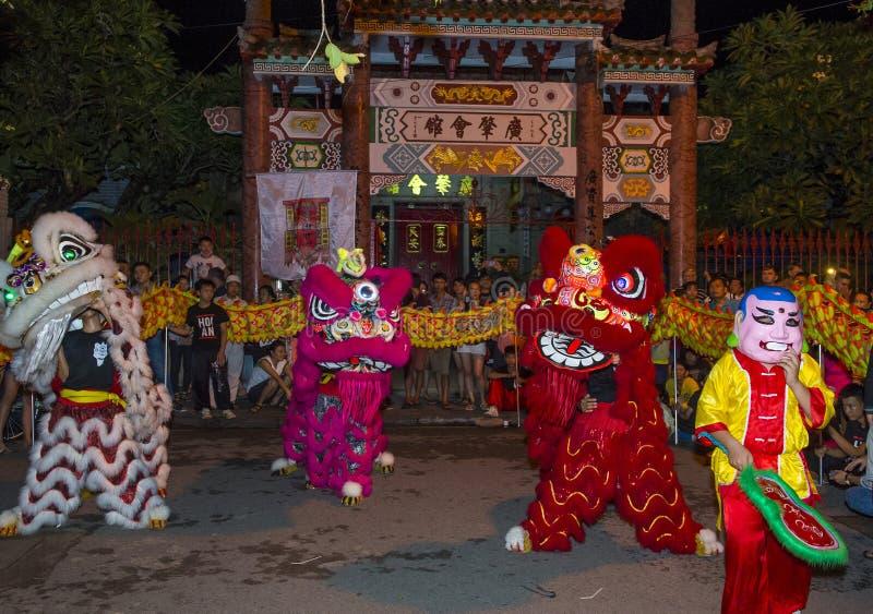 De medio herfst festiaval in Hoi An stock foto