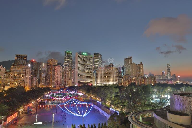 De medio-herfstfestival Celebrationsin Hong Kong stock fotografie