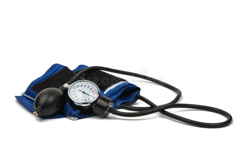De medische apparatuur van de bloeddrukmeter stock afbeeldingen