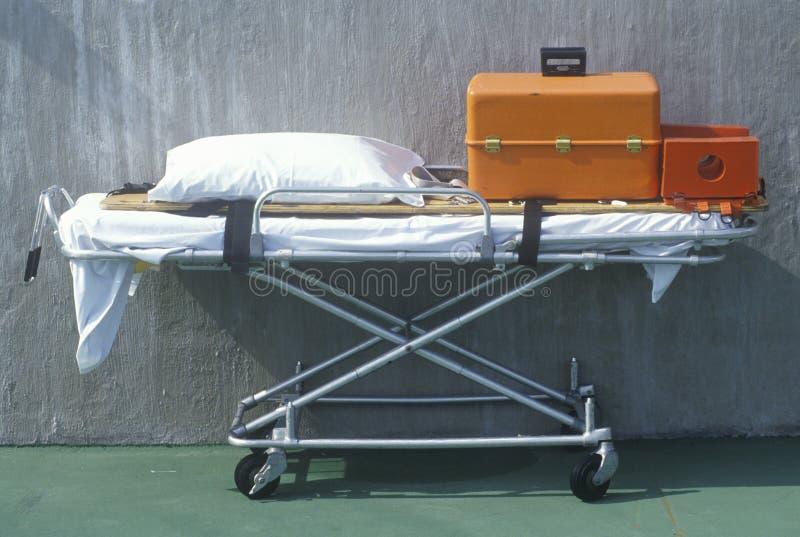 De medische apparatuur van de noodsituatie stock afbeeldingen