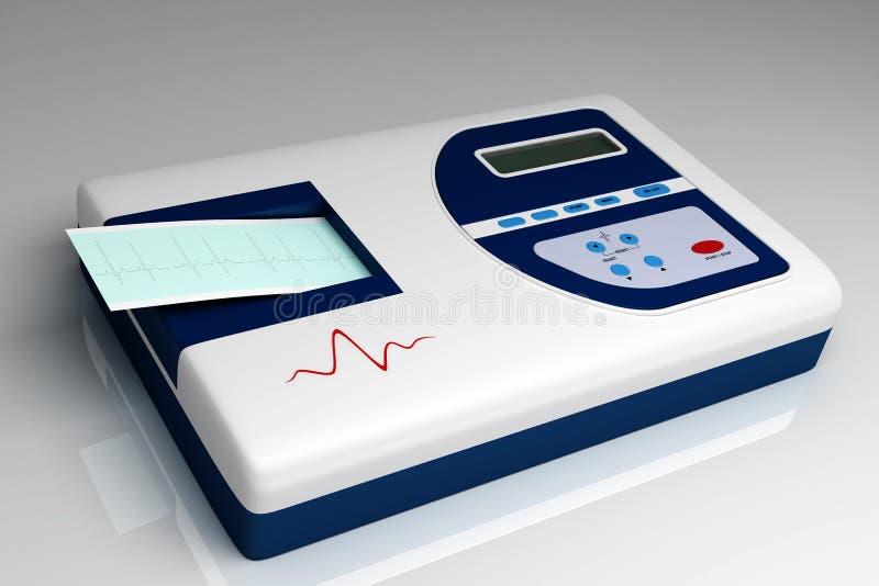 De medische apparatuur van het ziekenhuis vector illustratie