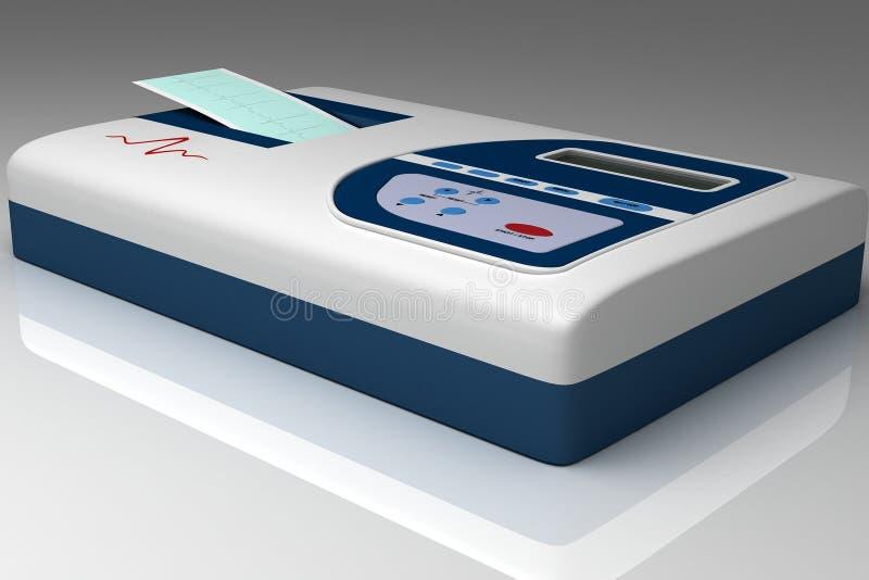 De medische apparatuur van het ziekenhuis royalty-vrije illustratie
