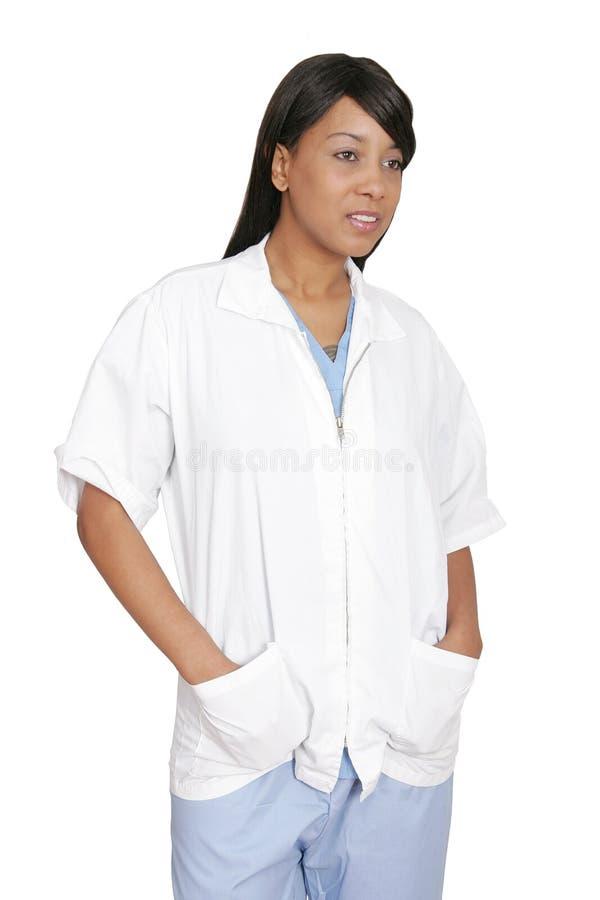De medische beroeps van de vrouw stock foto