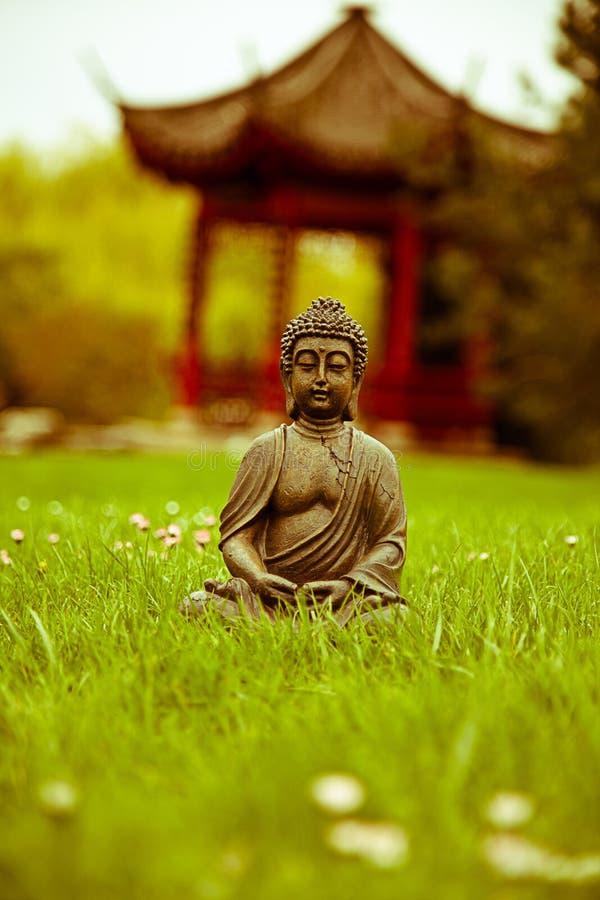 De meditatie van Boedha stock foto