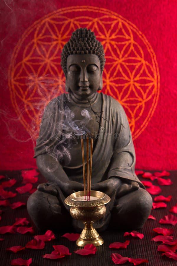 De meditatie van Boedha royalty-vrije stock afbeeldingen