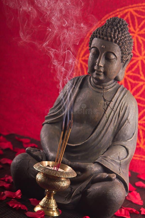 De meditatie van Boedha stock fotografie