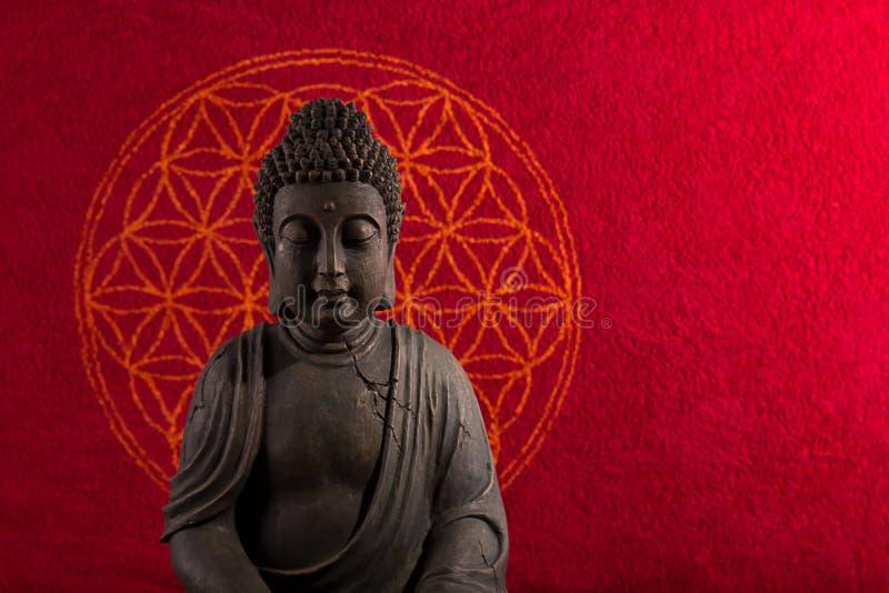 De meditatie van Boedha royalty-vrije stock foto