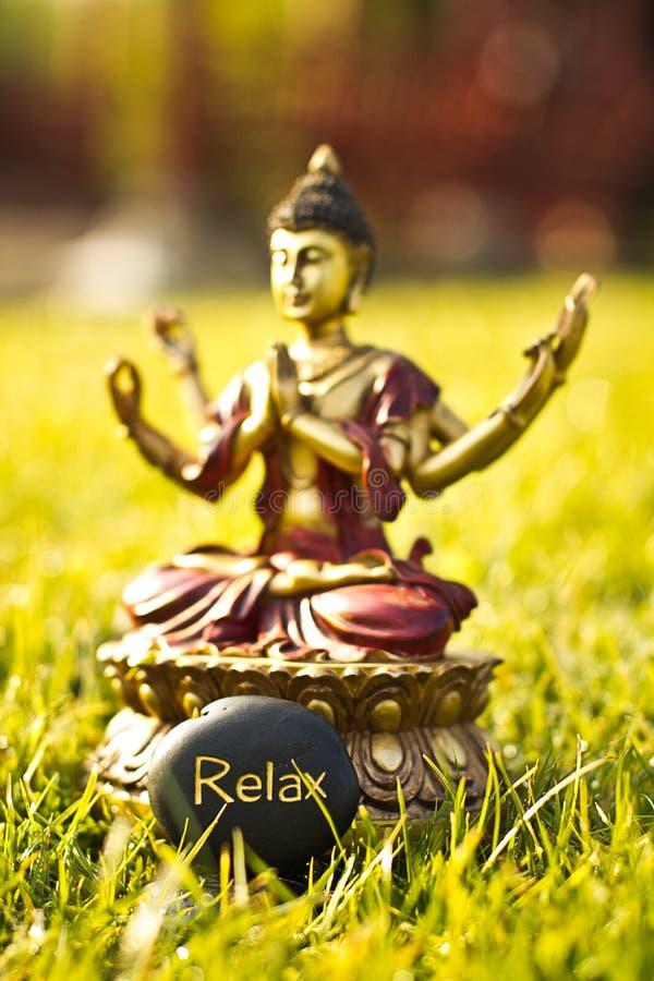 De meditatie van Boedha royalty-vrije stock afbeelding