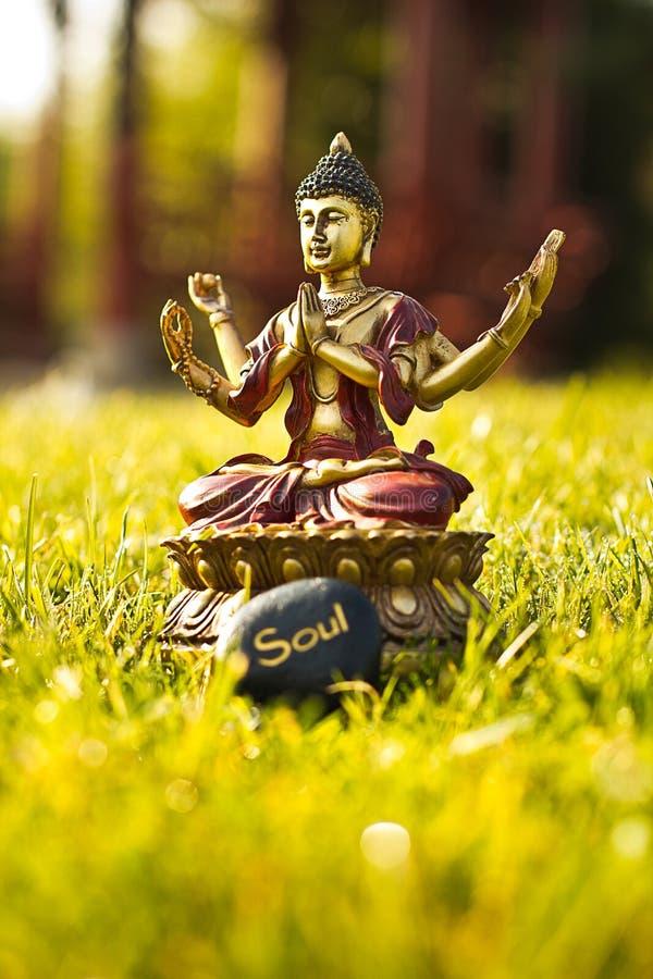 De meditatie van Boedha stock afbeelding