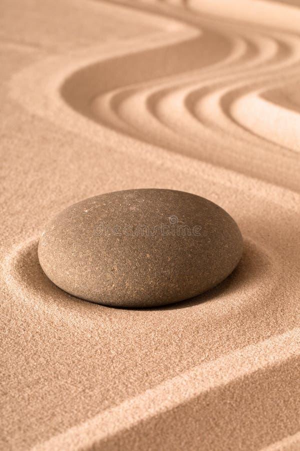 De meditatieachtergrond van de Zentuin stock fotografie