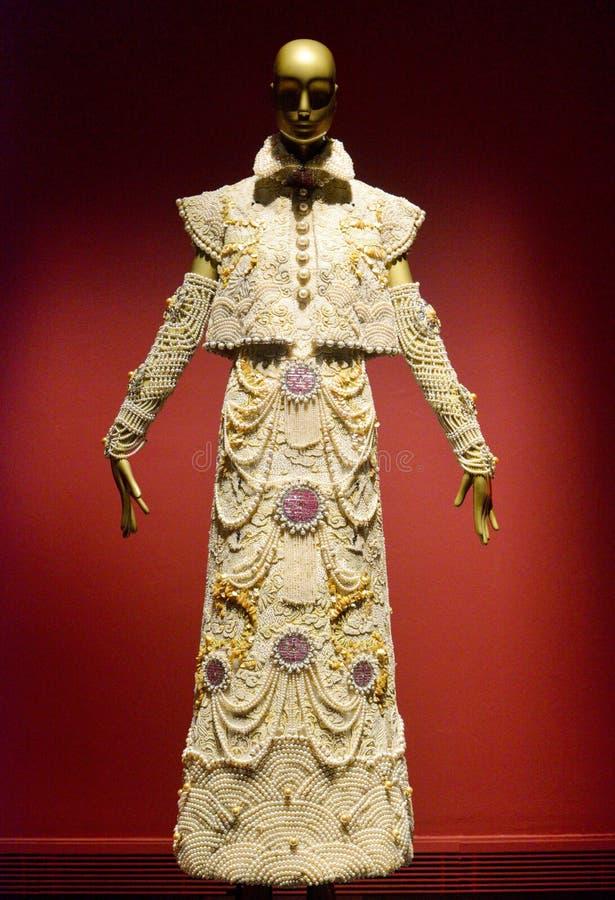De Meeste Luxehand - gemaakt Kostuum stock fotografie