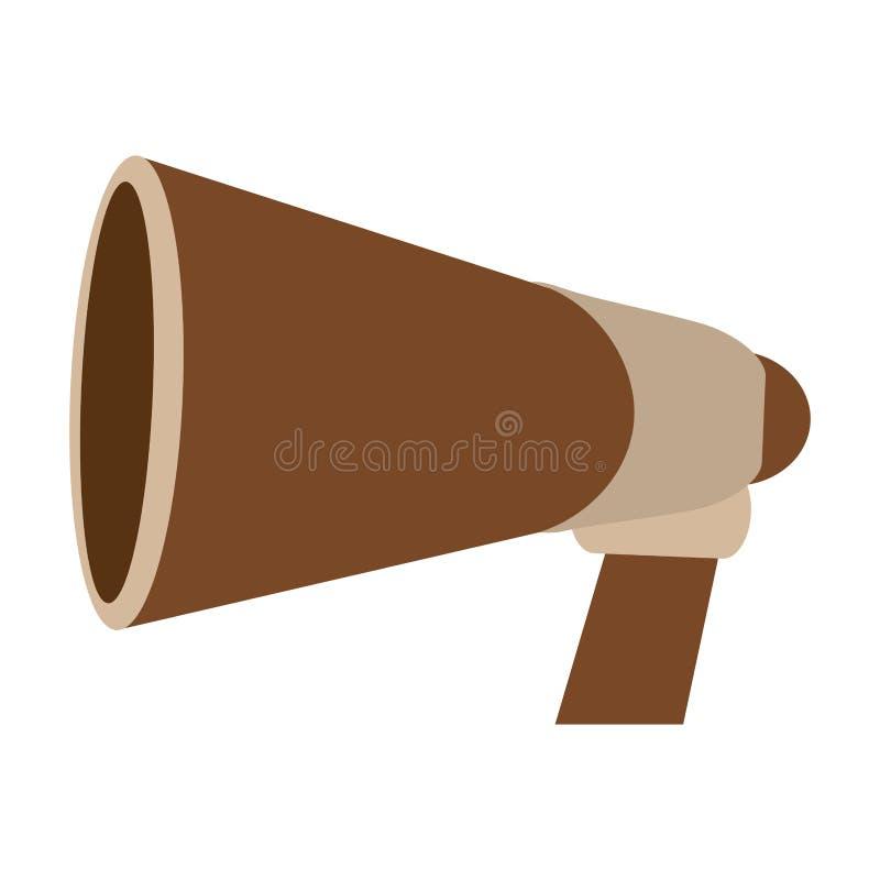 De megafoon van bioskoopdirecteuren stock illustratie