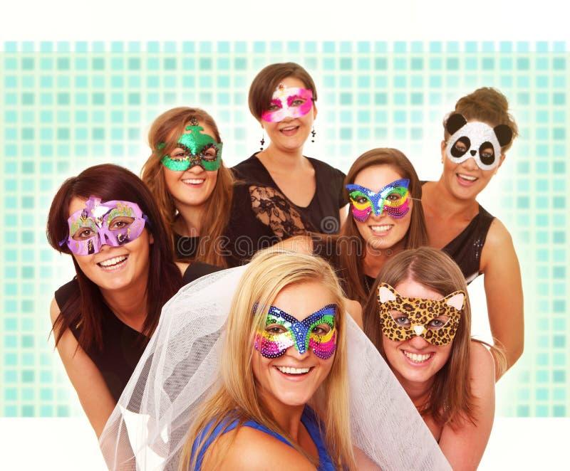 De meisjes van Carnaval stock foto