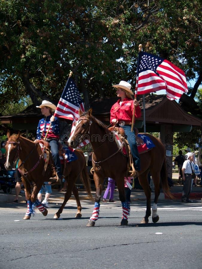 De Meisjes van de rodeo royalty-vrije stock foto