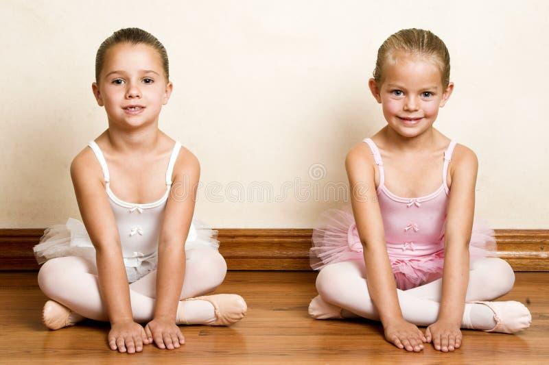 De Meisjes van het ballet royalty-vrije stock afbeelding