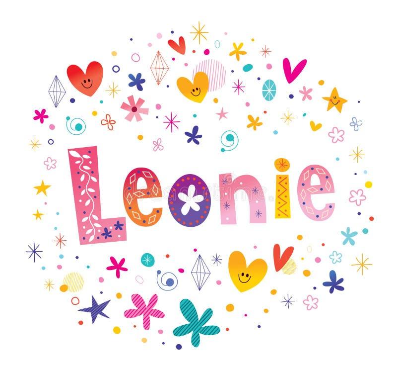 De meisjes van Leonie noemen royalty-vrije stock foto's