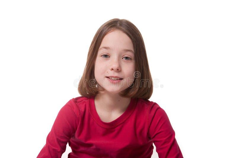 De meisjes zien onder ogen stock foto's