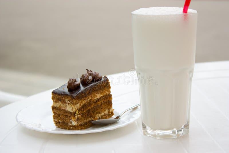 De melkcocktail stock fotografie