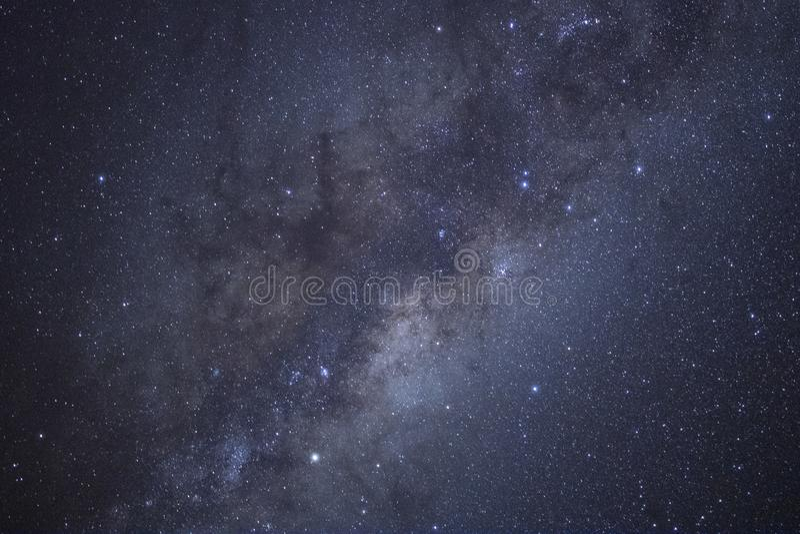 De Melkweg glanst over Nieuw Zeeland royalty-vrije stock afbeeldingen