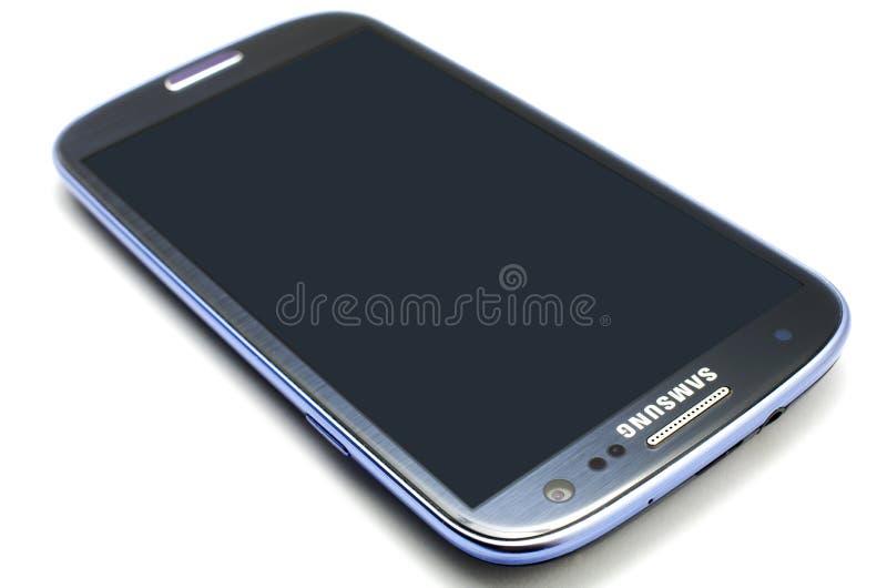 De Melkweg van Samsung S3 royalty-vrije stock afbeelding