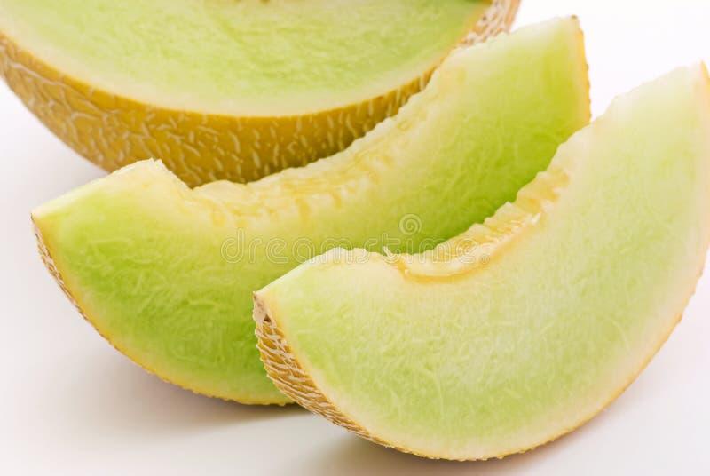 De Meloen van de rots stock foto's