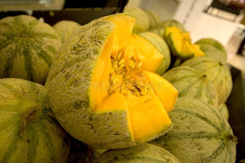 De Meloen van de rots stock fotografie