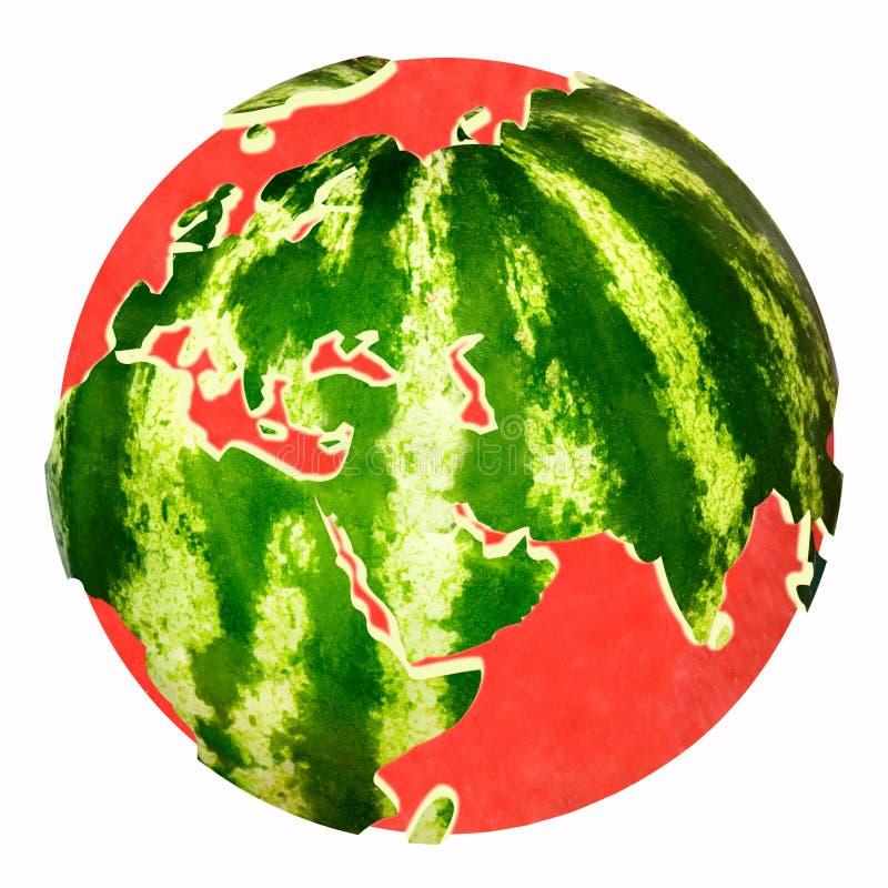 De meloen van het water royalty-vrije illustratie