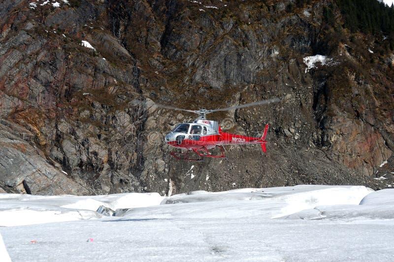 De Mendenhall-Gletsjer royalty-vrije stock foto