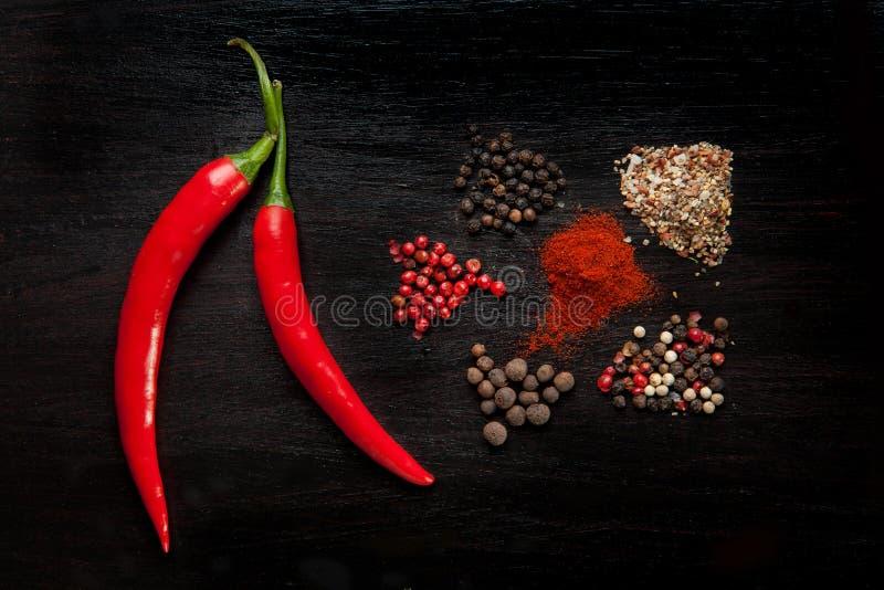 De mengeling van de peper royalty-vrije stock fotografie