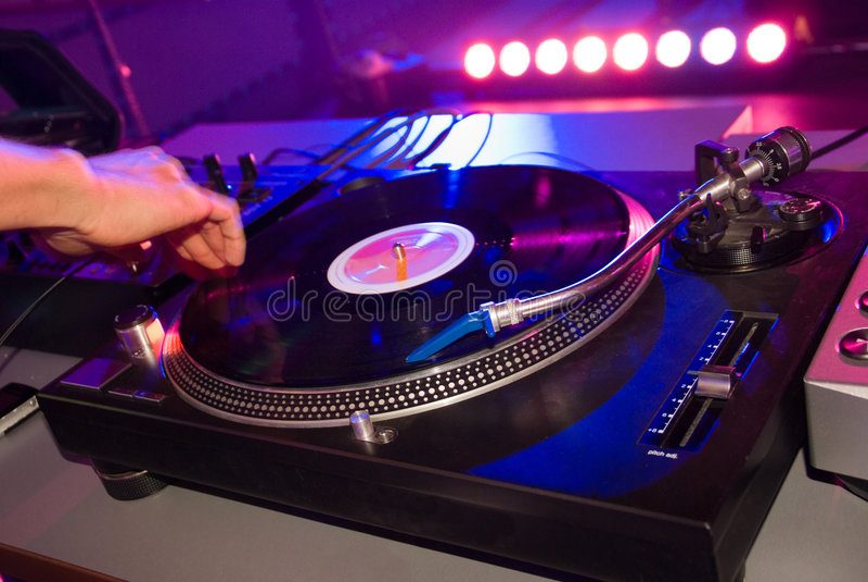 De mengeling van DJ