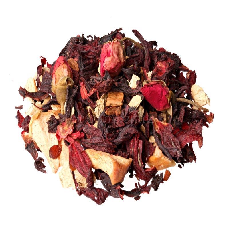 De mengeling van het Aromatherapywelriekend mengsel van gedroogde bloemen en kruiden van droge aromatische bloemen stock foto's