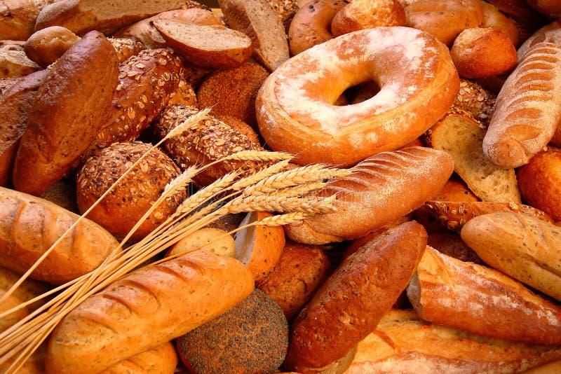 De mengeling van het brood royalty-vrije stock afbeeldingen