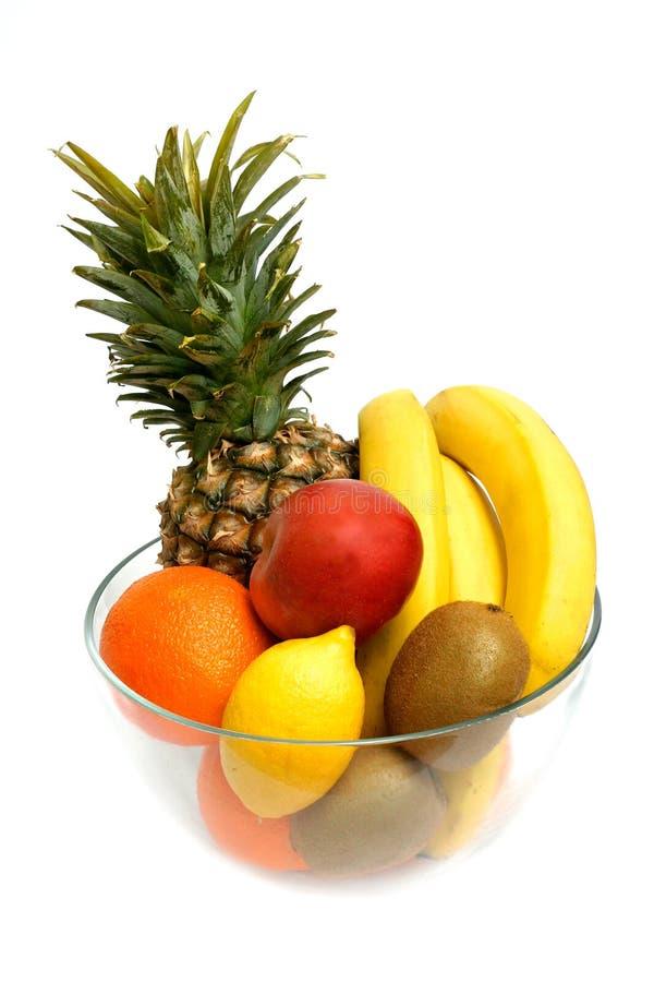 De Mengeling van het fruit stock foto