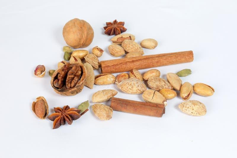 De mengeling van het notenkruid stock fotografie