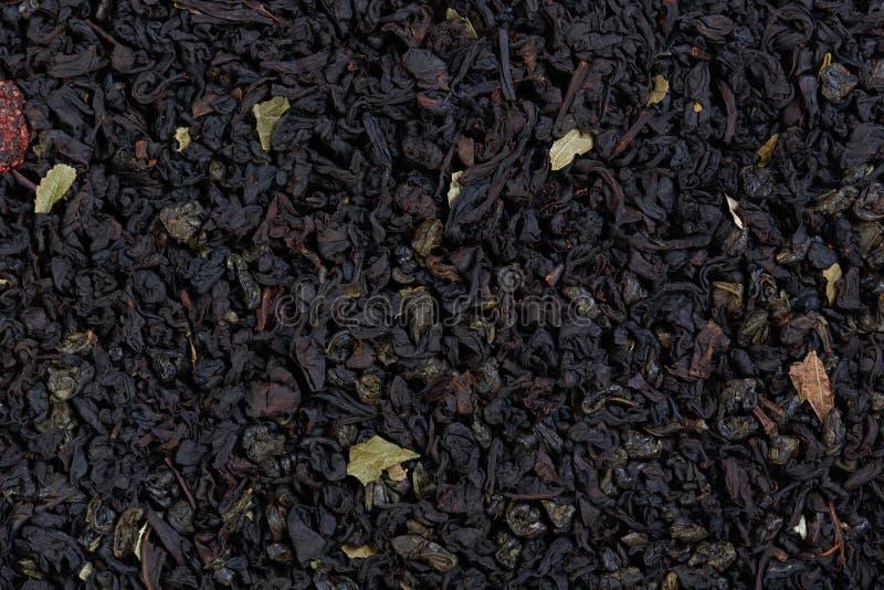 De mengsel-blad zwarte thee van Ceylon en China, met addit royalty-vrije stock foto's
