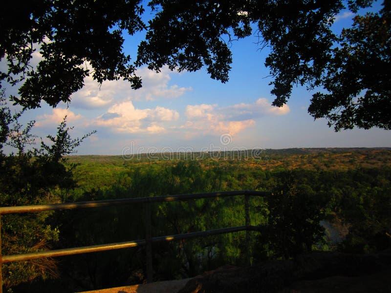 De Mening over Texas Hill Country royalty-vrije stock fotografie