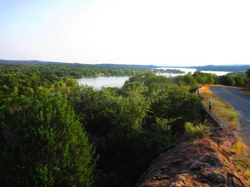 De Mening over Texas Hill Country royalty-vrije stock afbeelding