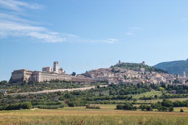 De mening van Assisi stock afbeeldingen