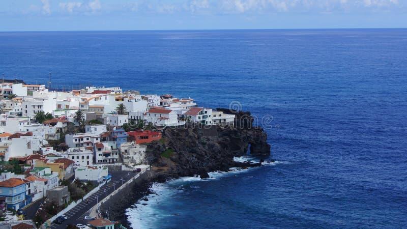 De mening van de Atlantische Oceaan stock fotografie