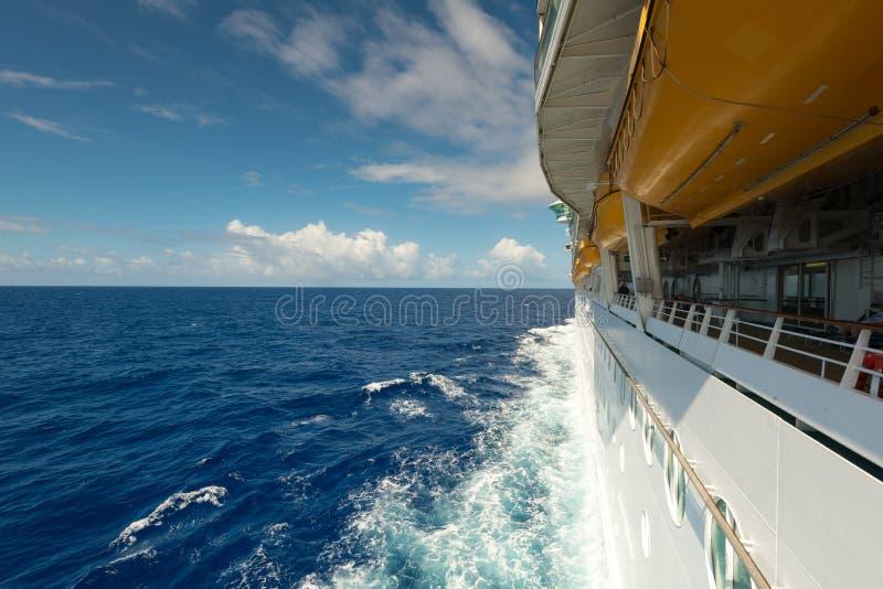 De mening van de Atlantische Oceaan stock foto