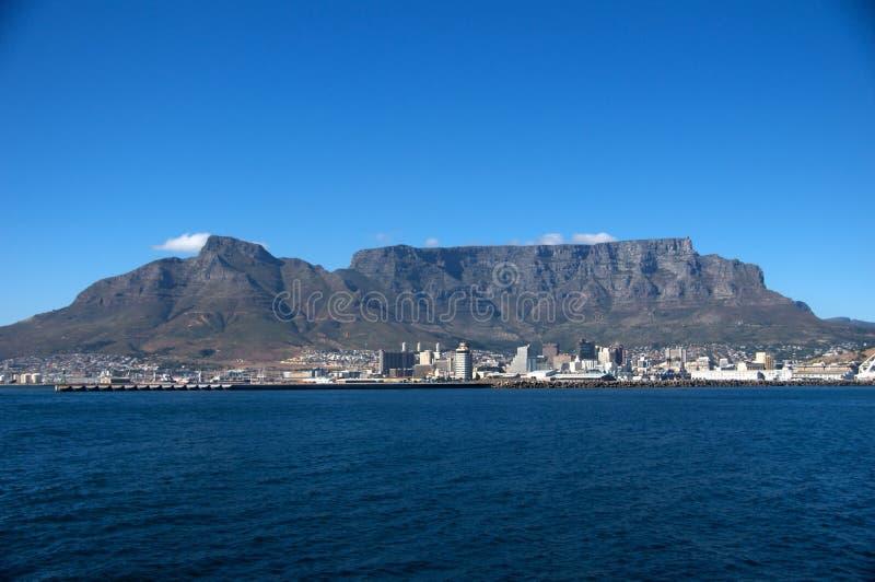De Mening van de Berg van de lijst, Kaapstad Zuid-Afrika royalty-vrije stock fotografie
