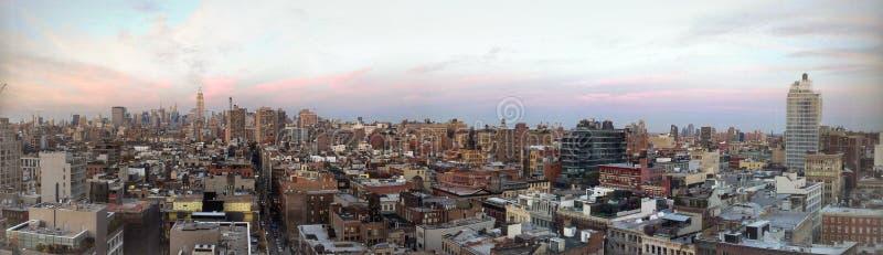 De Mening van de Horizon van New York stock foto