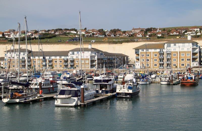 De Mening van de Jachthaven van Brighton royalty-vrije stock foto