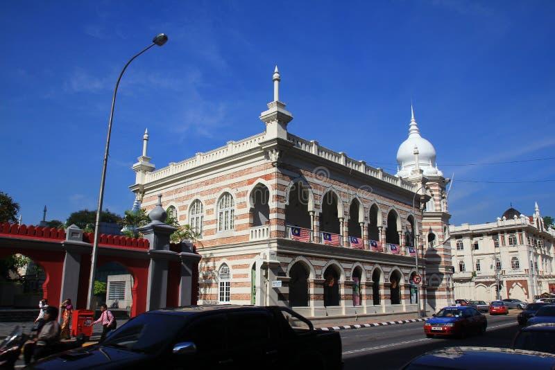 De mening van de ochtendstad van Kuala Lumpur royalty-vrije stock foto's