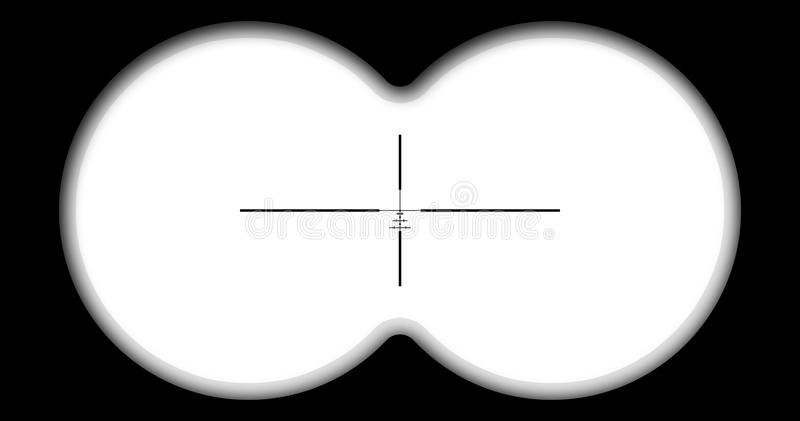 De mening van de verrekijkers vector illustratie